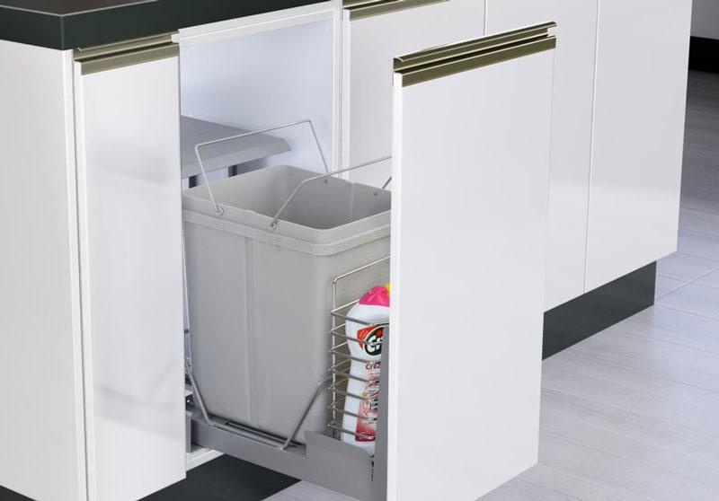 سطل زباله متصل به درب | ایما یراق