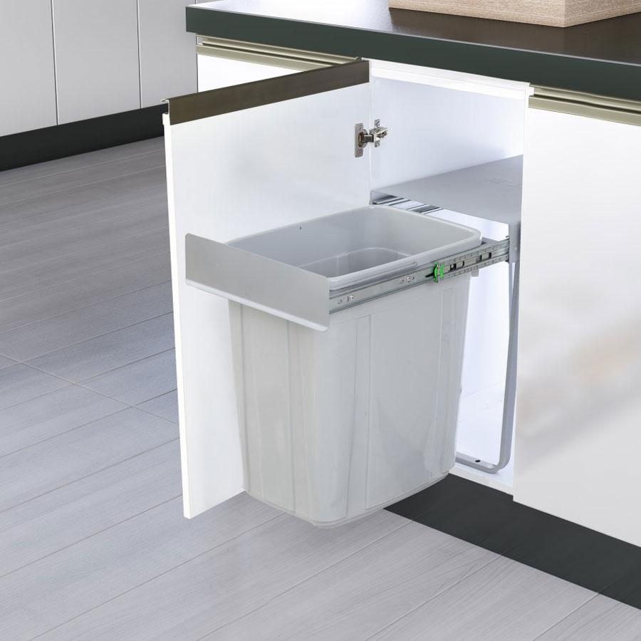 سطل زباله ریلی 40 لیتری مدل A811| ایما یراق
