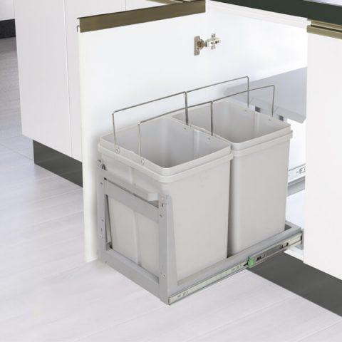 سطل زباله ریل کف متوسط آدلان مدل 816-ایما یراق