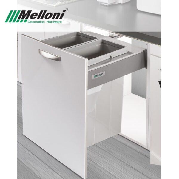 سطل زباله کابینتی ریلی ملونی مدل 9006 | ایما یراق