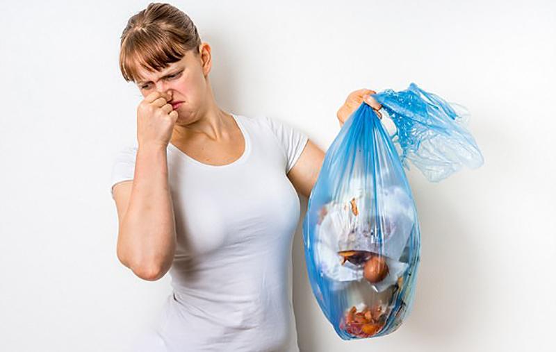انتشار بوی بد زباله