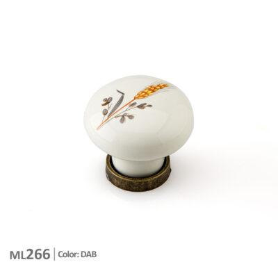 دستگیره سرامیکی طرح گندم مدل ML266-ایما یراق